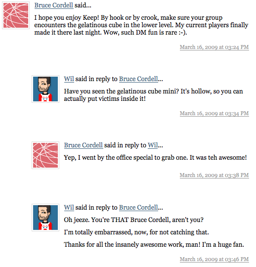Oh, you're THAT Bruce Cordell