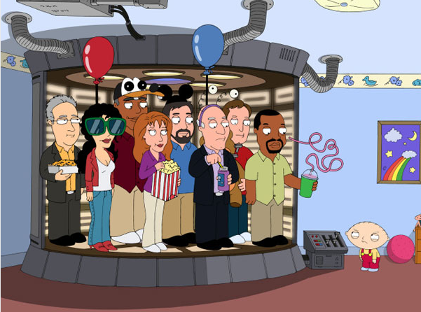 Star Trek The Next Generation Family Guy
