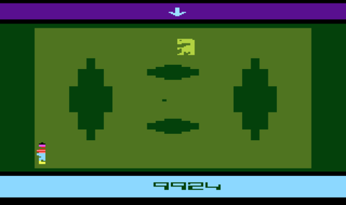 E.T. The Extra-Terrestrial Atari 2600 Game