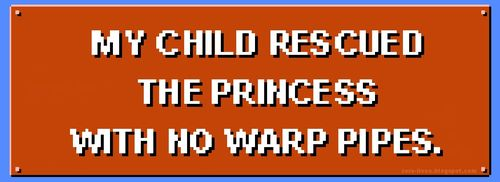 My-child-rescued-the-princess-with-no-warp-pipes