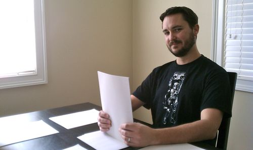 Wil_Wheaton_Collating_Paper