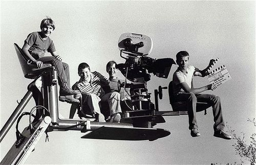 On the set of Stand By Me