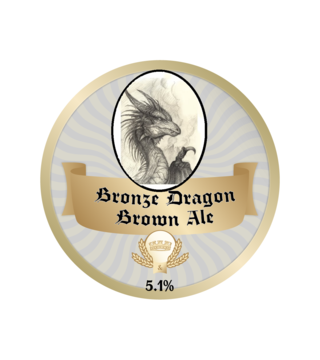 Bronze Dragon Ale Labels