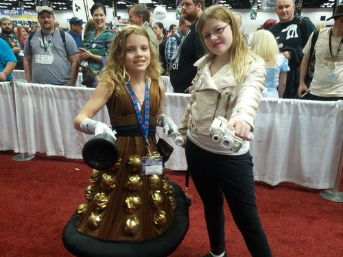 Dalek and River Song