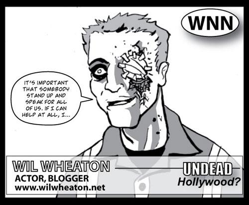 Wil Wheaton in Dead Eyes Open